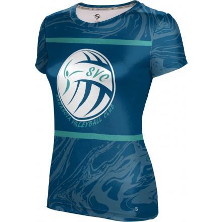 ProSphere Girls' Sarasota Volleyball Club Ripple Shirt
