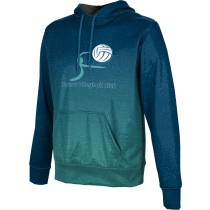ProSphere Men's Sarasota Volleyball Club Ombre Hoodie Sweatshirt