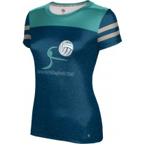 ProSphere Girls' Sarasota Volleyball Club Gameday Shirt