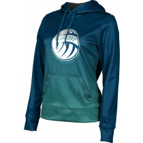 ProSphere Girls' Sarasota Volleyball Club Ombre Hoodie Sweatshirt