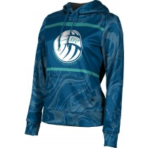 ProSphere Girls' Sarasota Volleyball Club Ripple Hoodie Sweatshirt