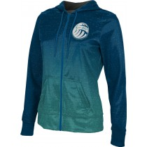 ProSphere Girls' Sarasota Volleyball Club Ombre Fullzip Hoodie