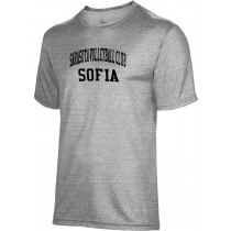 Men's Sarasota Volleyball Club Heather Poly Cotton Tee